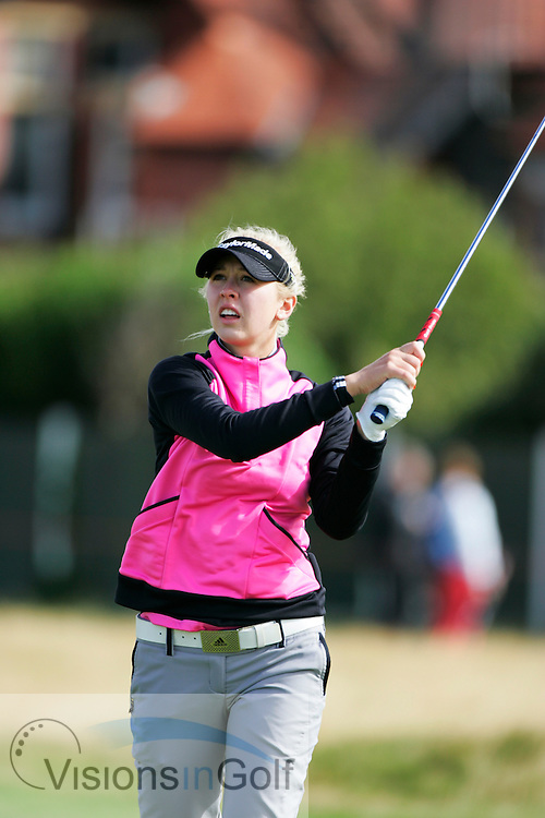 Jessica Korda<br /> Ricoh Womens British Open 2012<br /> Picture Credit: Mark Newcombe  / www.visionsingolf.com