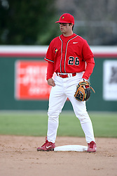 15 February 2007: Kyle Cherney. Indiana State Sycamores gave up the first game of the double-header by a score of 16-6 to the Illinois State Redbirds at Redbird Field on the campus of Illinois State University in Normal Illinois.
