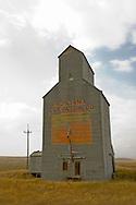 Grain elevator north of Harlowton Montana