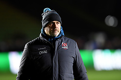 Ulster Rugby Head Coach Dan McFarland looks on during the pre-match warm-up - Mandatory byline: Patrick Khachfe/JMP - 07966 386802 - 13/12/2019 - RUGBY UNION - The Twickenham Stoop - London, England - Harlequins v Ulster Rugby - Heineken Champions Cup