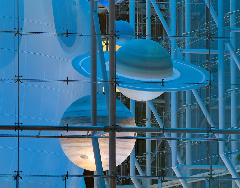 Rose Center for Earth and Space, Hayden Planetarium, New York City, New York, USA