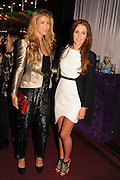 AMY WILLERTON; DANIELLE LLOYD, The VIP night for Cirque Du Soleil: Quidam at  the Royal Albert Hall, London. 7 January 2013