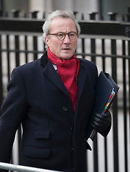 © Licensed to London News Pictures. 06/12/2016. London, UK. Lord Keen QC, Attorney General Scotland, arrives at the Supreme Court on the second day of a hearing to appeal against a November 3 High Court ruling that Article 50 cannot be triggered without a vote in Parliament. Photo credit: Peter Macdiarmid/LNP
