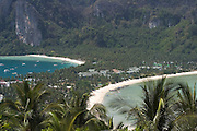 Ko Phi Phi, seen from the viewpoint.