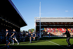 Bristol Rugby Full Back Jack Wallace warms up with the team - Photo mandatory by-line: Rogan Thomson/JMP - 07966 386802 - 20/05/2015 - SPORT - Rugby Union - Bristol, England - Ashton Gate Stadium - Bristol Rugby v Worcester Warriors - Greene King IPA Championship Play-Off Final 1st Leg.