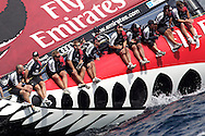 ITALY, Sardinia, Cagliari, AUDI MedCup, 23rd September 2010,  Region of Sardinia Trophy, Emirates Team New Zealand.