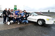 Onderwerp/Subject: Eredivisie<br /> Reklame:  <br /> Club/Team/Country: <br /> Seizoen/Season: 2012/2013<br /> FOTO/PHOTO: Supporters of Willem II traveling by Limousin car to the match in Utrecht. (Photo by PICS UNITED)<br /> <br /> Trefwoorden/Keywords: <br /> #02 #11 #14 $94 ±1354626289759 ±1354626289759<br /> Photo- & Copyrights © PICS UNITED <br /> P.O. Box 7164 - 5605 BE  EINDHOVEN (THE NETHERLANDS) <br /> Phone +31 (0)40 296 28 00 <br /> Fax +31 (0) 40 248 47 43 <br /> http://www.pics-united.com <br /> e-mail : sales@pics-united.com (If you would like to raise any issues regarding any aspects of products / service of PICS UNITED) or <br /> e-mail : sales@pics-united.com   <br /> <br /> ATTENTIE: <br /> Publicatie ook bij aanbieding door derden is slechts toegestaan na verkregen toestemming van Pics United. <br /> VOLLEDIGE NAAMSVERMELDING IS VERPLICHT! (© PICS UNITED/Naam Fotograaf, zie veld 4 van de bestandsinfo 'credits') <br /> ATTENTION:  <br /> © Pics United. Reproduction/publication of this photo by any parties is only permitted after authorisation is sought and obtained from  PICS UNITED- THE NETHERLANDS