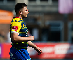 Cardiff Blues' Ellis Jenkins<br /> <br /> Photographer Simon King/Replay Images<br /> <br /> European Rugby Challenge Cup - Semi Final - Cardiff Blues v Pau - Saturday 21st April 2018 - Cardiff Arms Park - Cardiff<br /> <br /> World Copyright © Replay Images . All rights reserved. info@replayimages.co.uk - http://replayimages.co.uk