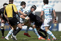 Luke Charteris   - 05.04.2015 - Racing Metro 92 / Sarances - 1/4Finale European Champions Cup<br />