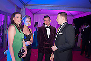 KATE WILLETT; SOPHIE HONON; CAPT JAMES KIRK; LAURA WATSON; GEORGE THOMAS, Quorn Hunt Ball, Stanford Hall. Standford on Soar. 25 January 2014