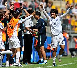 01.08.2010, , Bielefeld, GER, FIFA U-20 Frauen Worldcup, Kolumbien vs Korea, im Bild Korea gewinnt mit 1:0 und wird dritter bei der U-20 Frauen WM, EXPA Pictures © 2010, PhotoCredit: EXPA/ nph/  Roth+++++ ATTENTION - OUT OF GER +++++ / SPORTIDA PHOTO AGENCY