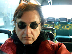 Me on the Bus, no wooden shoes yet.