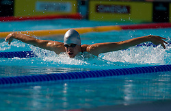 Yannick Lebherz of Germany during the Men's  400m Individual Medley Heats during the 13th FINA World Championships Roma 2009, on August 2, 2009, at the Stadio del Nuoto,  in Foro Italico, Rome, Italy. (Photo by Vid Ponikvar / Sportida)
