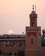 Sunset at Place Jemma el-Fna, Marrakesh, Morocco