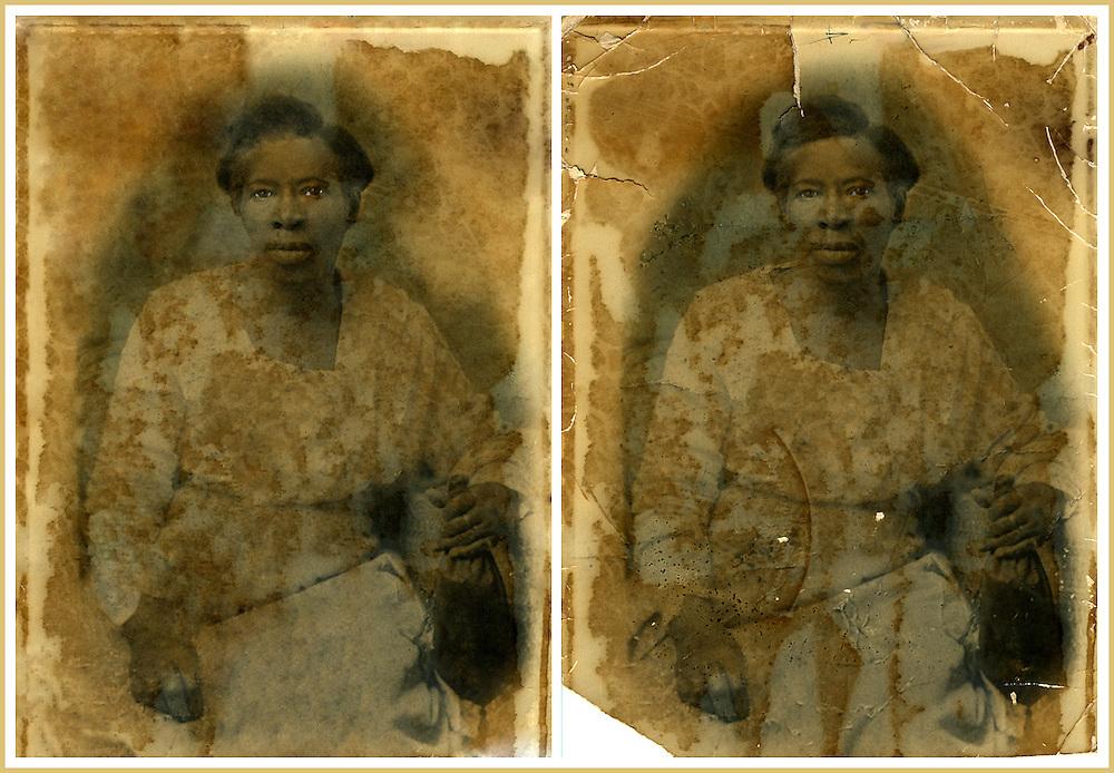 Restoration of vintage photograph.
