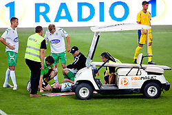 Medical car during football match between NK Olimpija Ljubljana and NK Domzale of 9th Round of PrvaLiga, on September 17, 2011, in SRC Stozice, Ljubljana, Slovenia. (Photo by Matic Klansek Velej / Sportida)