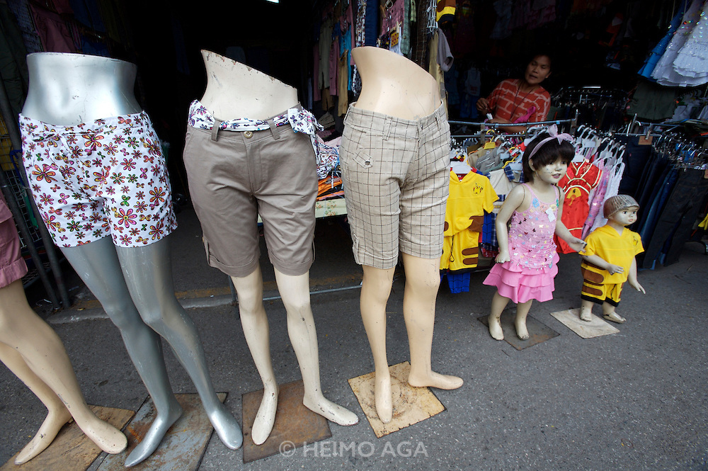 Chatuchak Sunday Market. Fashion boutique.