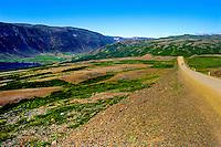 The Westfjords in northwestern Iceland.
