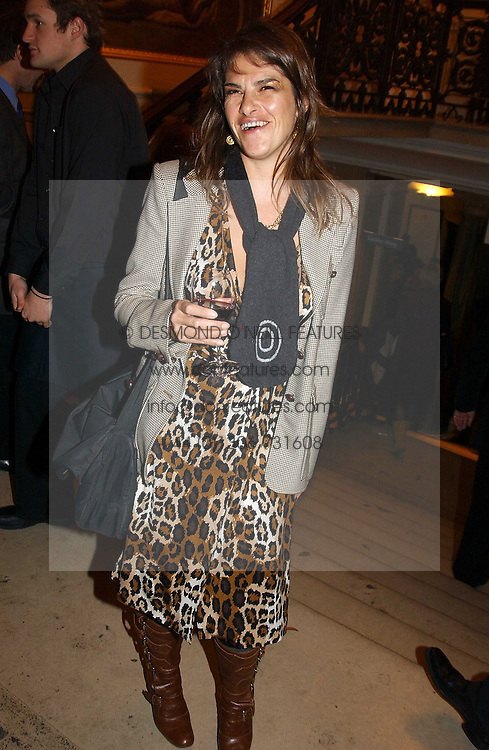Artist TRACEY EMIN at a reception to celebrate the opening of Turks:A Journey of a Thousand Years, 600-1600 - an exhibition of Turkish art held at the Royal Academy of Arts, Piccadilly, London on 18th February 2005.<br /><br />NON EXCLUSIVE - WORLD RIGHTS