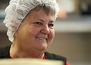 Assistant Kitchen Manager Barb Petersen of Cedar Rapids at the Salvation Army, 1000 C Ave NW, in Cedar Rapids on Friday, August 31, 2012. Petersen started as a volunteer but is now on staff.
