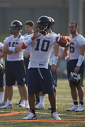 Jameel Sewell (10)..The 2007 Virginia Cavaliers football team opened fall practice on August 6, 2007 at the University of Virginia football practice fields near the McCue Center in Charlottesville, VA.