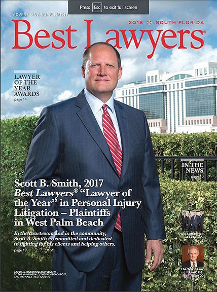 Scott B. Smith, Esq., BEST LAWYER, South Florida edition