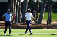 Rafa Cabrera Bello (ESP) and Erik Van Rooyen (RSA) during Round 1 of the Players Championship, TPC Sawgrass, Ponte Vedra Beach, Florida, USA. 12/03/2020<br /> Picture: Golffile | Fran Caffrey<br /> <br /> <br /> All photo usage must carry mandatory copyright credit (© Golffile | Fran Caffrey)