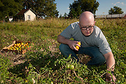 Chef Josh Adams visits Spence Farm