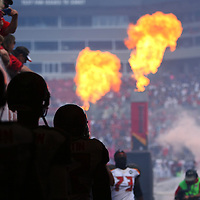TAMPA, FL - OCTOBER 12:  Buccaneers players prepare in the tunnel prior to an NFL football game at Raymond James Stadium on October 12, 2014 in Tampa, Florida. (Photo by Alex Menendez/Getty Images) *** Local Caption ***