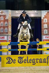 Zoer Albert, NED, Gigolo<br /> Anemone Horse Trucks Prize<br /> Jumping Amsterdam 2017<br /> © Hippo Foto - Leanjo de Koster<br /> 28/01/17