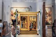 FLORENCE: Galleria degli Uffizi, Adorazione del Bambino, by Bartolomeo della Porta