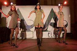 Burlesque dancers Die Gl'amouresque entertain audiences at Merchants Hall, Edinburgh Fringe. Pic copyright by Terry Murden @edinburghelitemedia