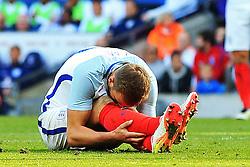 England's Harry Kane rues a missed chance - Mandatory byline: Matt McNulty/JMP - 07966386802 - 22/05/2016 - FOOTBALL - Etihad Stadium -Manchester,England - England v Turkey - International Friendly