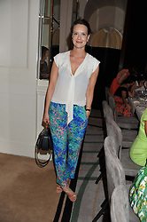 ARABELLA MUSGRAVE at a girl's lunch to celebrate the opening of Annoushka Ducas's new store Flagship Annoushka at 1 South Molton Street, London W1 on 26th July 2012.  Following drinks guests went for lunch at Claridge's, Brook Street, London.