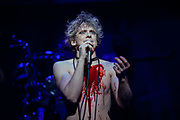 "NEW YORK, NY - AUGUST 1, 2019: Andrew Polec during a production of ""Bat Out of Hell"" at New York City Center. CREDIT: Emon Hassan for The New York Times"