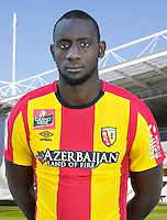 Abdoul BA - 30.10.2015 - Portrait Officiel - Lens<br /> Photo : RC Lens / Icon Sport