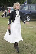 Mrs. Timothy Leon, Royal Ascot Race Meeting. Wednesday 21 June 2006. ONE TIME USE ONLY - DO NOT ARCHIVE  © Copyright Photograph by Dafydd Jones 66 Stockwell Park Rd. London SW9 0DA Tel 020 7733 0108 www.dafjones.com
