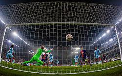 December 13, 2018 - Budapest, Hungary - 2nd goal in the UEFA Europa League Group L match between MOL Vidi FC and Chelsea FC at Groupama stadium on Dec 13, 2018 in Budapest, Hungary. (Credit Image: © Robert Szaniszlo/NurPhoto via ZUMA Press)