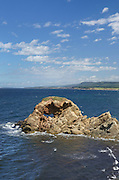 Natural Arch near Margaree Harbour, Cape Breton Island Nova Scotia