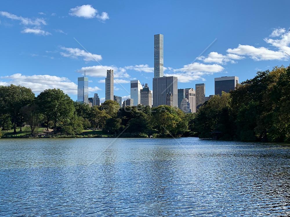 Skyline of Midtown Manhattan from Central Park