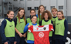 Ball girls of Bristol Academy - Mandatory by-line: Paul Knight/JMP - Mobile: 07966 386802 - 04/10/2015 -  FOOTBALL - Stoke Gifford Stadium - Bristol, England -  Bristol Academy Women v Liverpool Ladies FC - FA Women's Super League