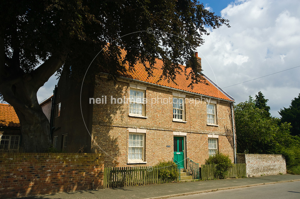 High Farm on Middle Street, Kilham village East Yorkshire