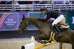 Duguet Romain, SUI, Twentytwo Des Biches<br /> Round 2<br /> Longines FEI World Cup Jumping, Omaha 2017 <br /> © Hippo Foto - Dirk Caremans<br /> 01/04/2017