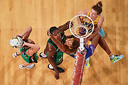 PERTH, AUSTRALIA - AUGUST 26: West Coast Fever vs the Sunshine Coast Lightning during the Suncorp Super Netball Grand Final match from Perth Arena - Sunday 26th August 2018 in Perth, Australia. (Photo by Daniel Carson/dcimages.org/Netball WA)