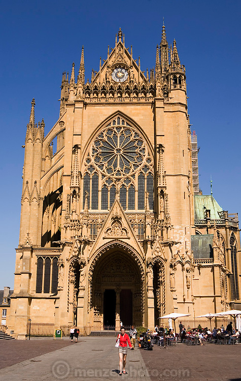 St. Etienne cathedral, Metz, France.