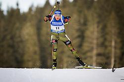 Andreas Birnbacher (GER) during Men 10 km Sprint of the IBU Biathlon World Cup Pokljuka on Thursday, December 16, 2015 in Pokljuka, Slovenia. Photo by Ziga Zupan / Sportida