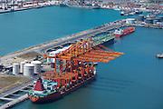 Heavy Lift Vessel in Cape Town Port