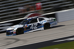November 2, 2018 - Ft. Worth, Texas, United States of America - Kyle Larson (42) takes to the track to practice for the AAA Texas 500 at Texas Motor Speedway in Ft. Worth, Texas. (Credit Image: © Justin R. Noe Asp Inc/ASP via ZUMA Wire)