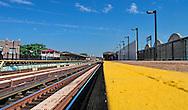 Train station in Brooklyn
