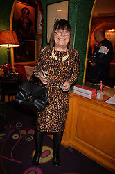 Hilary Alexander attends CATWALKING, PHOTOGRAPHS BY CHRIS MOORE party hosted by The British Fashion Council & Laurence King Publishing at Annabel's, Mayfair, London England. 6 November 2017.